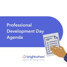 Professional Development Day Agenda - brightwheel