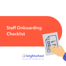 Download our Staff Onboarding Checklist for Childcare Centers and Preschools!