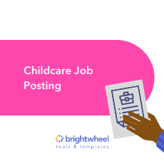 Childcare Job Posting thumbnail