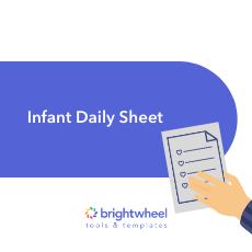 Infant Daily Sheet - brightwheel