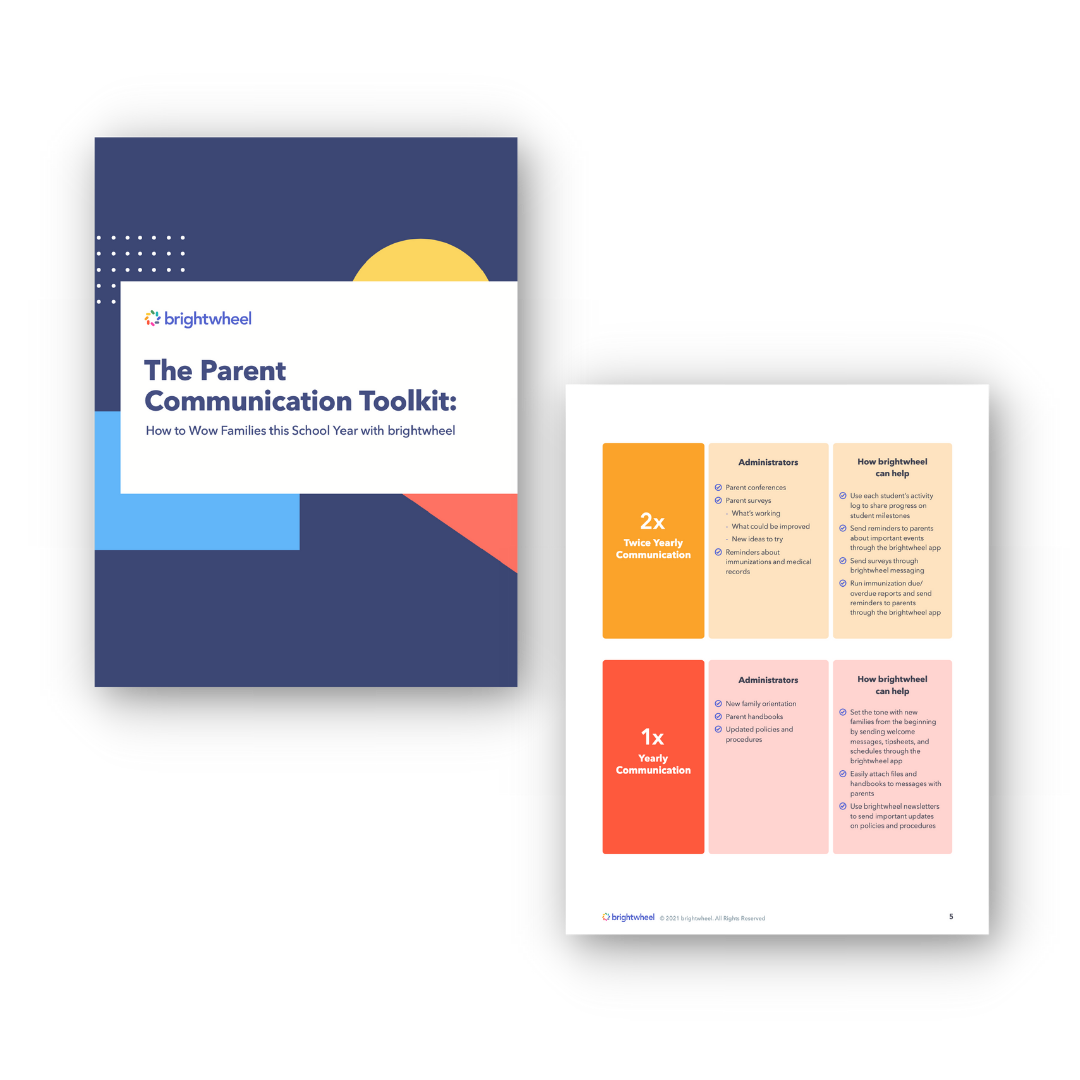 The Parent Communication Toolkit - brightwheel