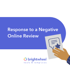 Response to a Negative Online Review thumbnail